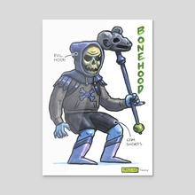 Bonehood - Acrylic by Ugly Ink