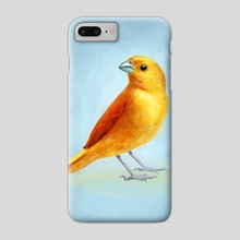 Wild Canary - Phone Case by Indré Bankauskaité