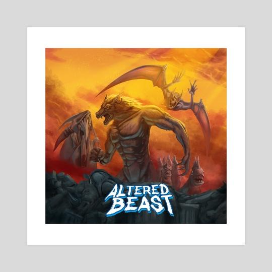 Remaster Altered Beast by Leonardo Cordeiro