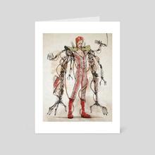 Rusty Bowie - Art Card by Nico Di Mattia