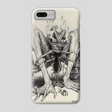 Devil - Phone Case by Charles Lister