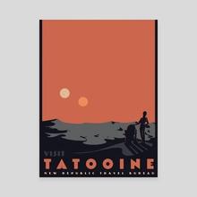 Visit Tatooine - Canvas by Matheus Lopes