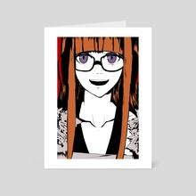 Futaba Sakura - Art Card by Plig Plag