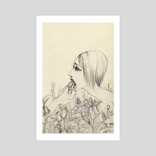 Flowerbed by Lily Pfaff