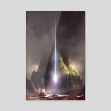 Origin - Monolith:Nexus - Acrylic by J A D