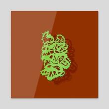 Melted 2 - Acrylic by Solar Broccoli