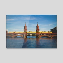 Berlin Bridge - Acrylic by R Baumung