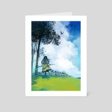 Wooloo Herder - Art Card by Ver