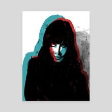 Y tu no me Respondias - Canvas by Daniel Pagan