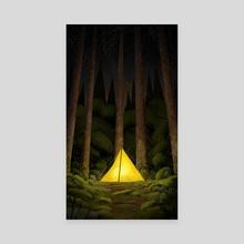 Camping - Canvas by Bård Torkildsen