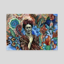 Frida - Scared Garden. - Canvas by Fanitsa Art