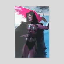 Wonder Woman - Acrylic by Jeff Dekal