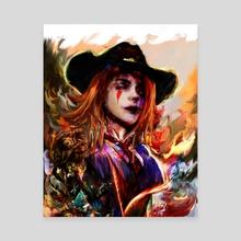 ashe - Canvas by Maxim G