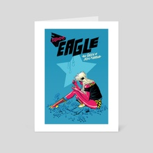 Blonde Eagle - Art Card by Rentz !