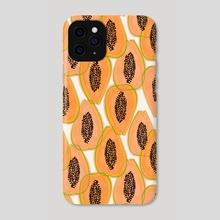 Papaya Cravings - Phone Case by 83 Oranges