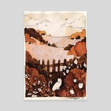 cottagetober day 7 - Canvas by Julia Famula