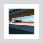 Underpass - Art Print by Alice Yang