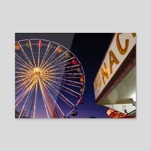 Carnival - Acrylic by Joshua Zika
