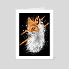 Fox Galaxy - Art Card by Muhammad Sidik