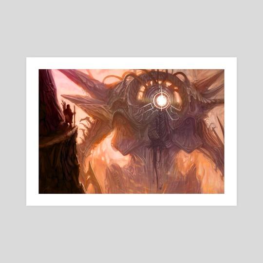 Awoken Colossus  by Santiago Rosas