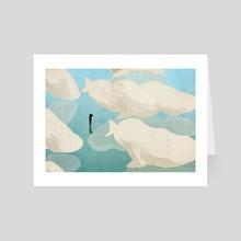 Clouds - Art Card by Lara Paulussen