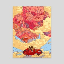 Final Boss Tetsuo - Canvas by Joey Rex