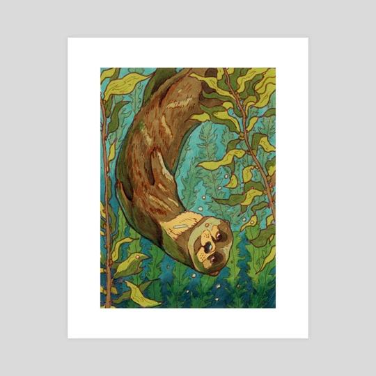 otter by Kelshray