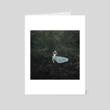 Bloom like a flower - Art Card by Jovana Rikalo