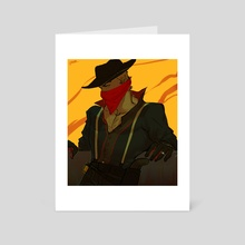 Outlaw - Art Card by jesp .