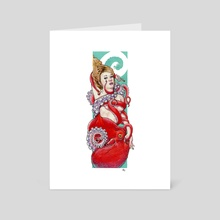 Octopus - Art Card by Shawn Adomanis