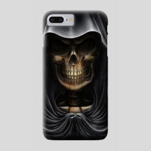 Death - Phone Case by Andrew Dobell
