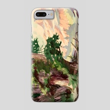 May Dore Watercolor by V.P. Shkurkin - Phone Case by Katya Shkurkin