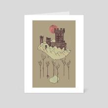 Walden - Art Card by Hector Mansilla