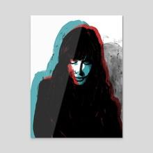Y tu no me Respondias - Acrylic by Daniel Pagan