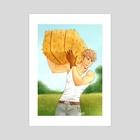 SNK: FarmAU!Jean - Art Print by Yuki119