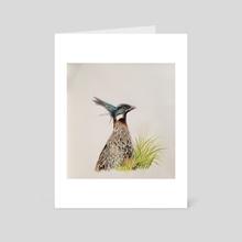 The Mighty Koklass Pheasant - Art Card by Anju Panwar Rajesh