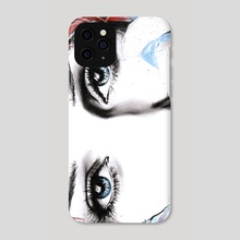 See what feelings I hide - Phone Case by e Drawings38
