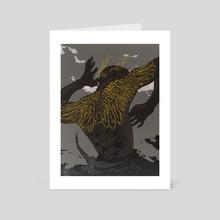Wanderlust - Art Card by Vincent Cecil