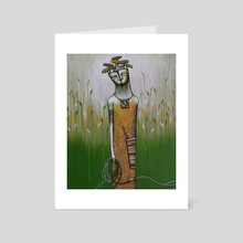 Mother Nature - Art Card by Carole Newman