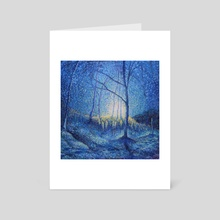 Morning at the Land - Art Card by Garth Laidlaw