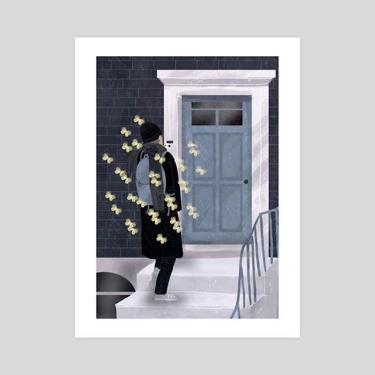 nervous butterflies by Lara Paulussen