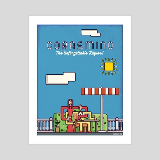 Corasmino - The Unforgettable Liqour by Lamissol Art&Design