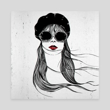 Jane - Canvas by Stephan Parylak