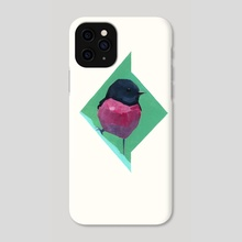 Petroica rodinogaster - Phone Case by Francisco Mariz Rodrigues