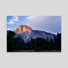 Yosemite Sunset  - Canvas by Polyanna Isepan