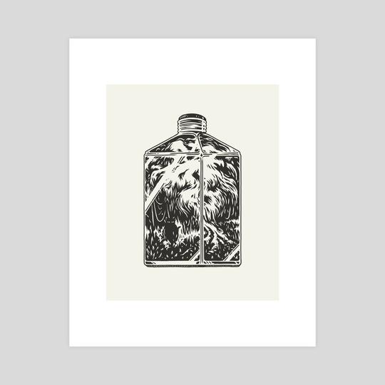 Bottle Panther by Talisman BA