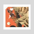 Hunters - Art Print by Tesslyn Bergin