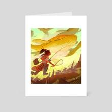 Folly - Art Card by Alyssa Winans