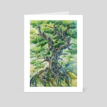 Tree of life - Art Card by Hannah Böving