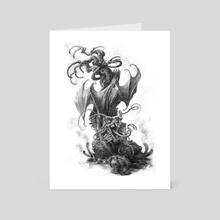 Jabberwocky - Art Card by Lynton Levengood